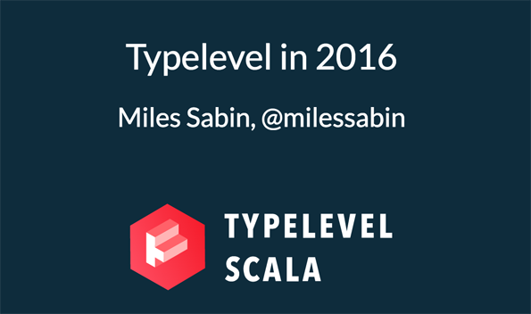 Typelevel in 2016