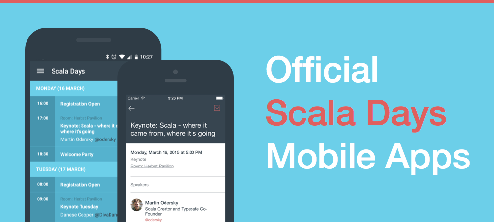 Scala Days 2015 Official Mobile Apps