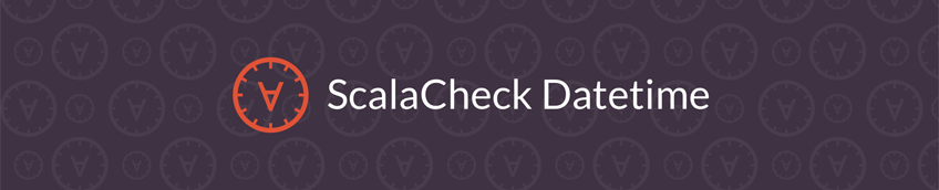 Introducing scalacheck-datetime