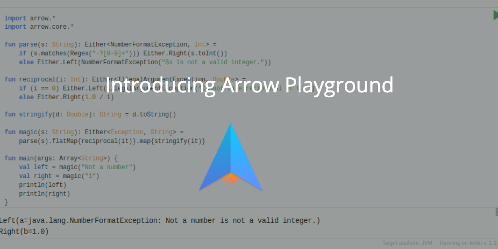 Arrow Playground is now available