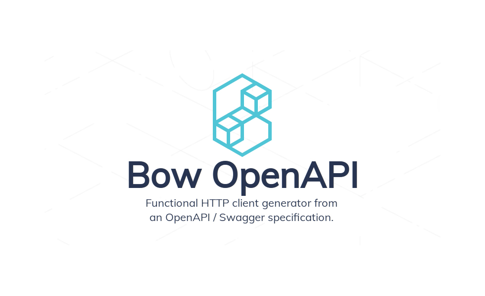 Introducing Bow OpenAPI 0.1.0