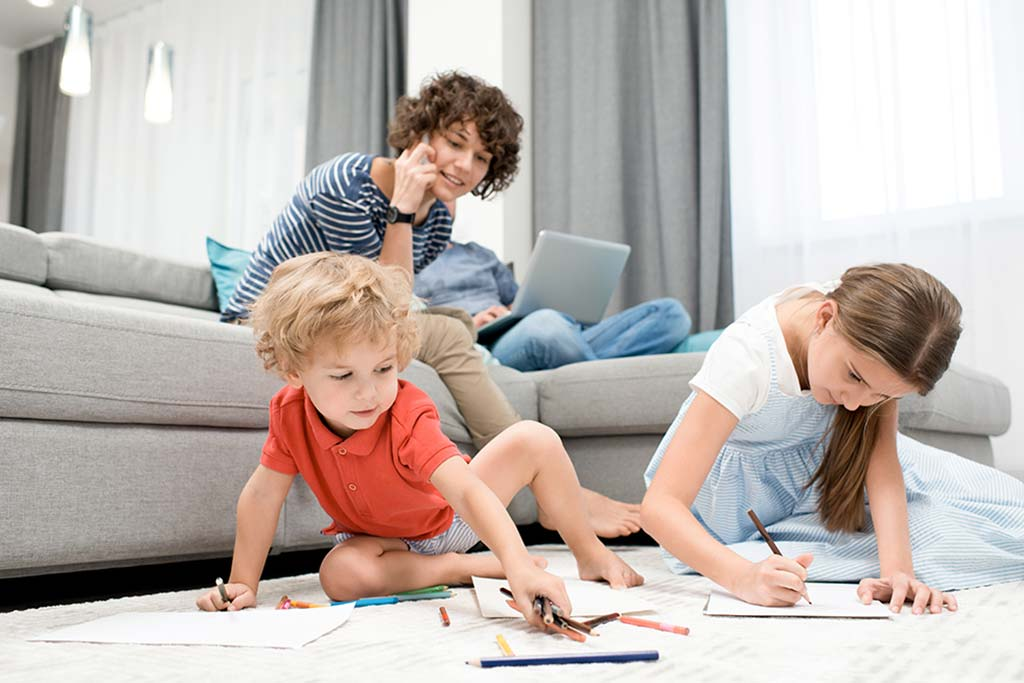 What To Do With Your Kids While You're Working From Home