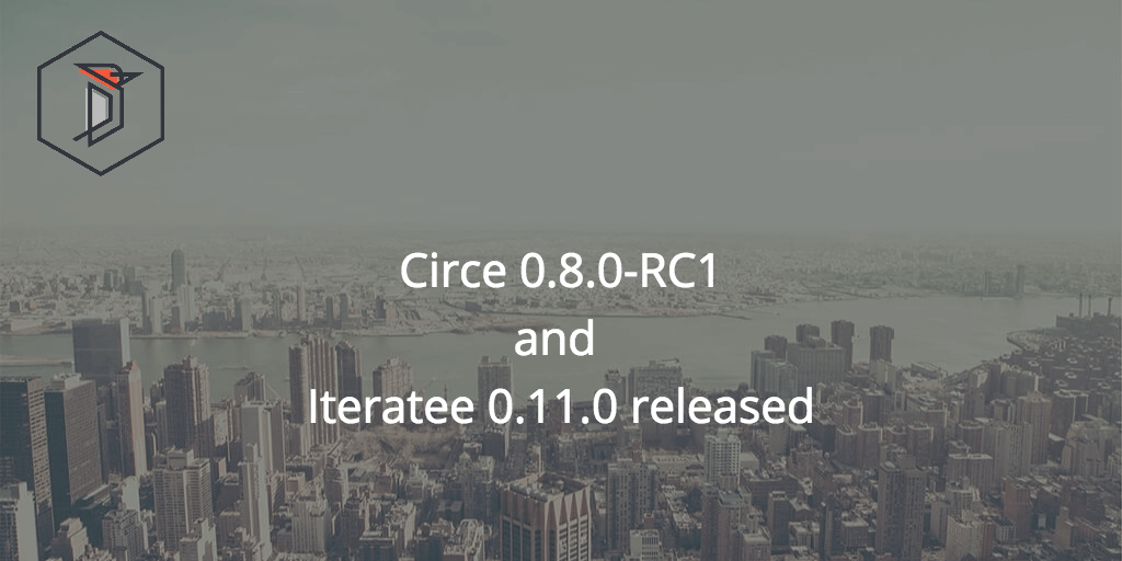 New releases of iteratee and circe