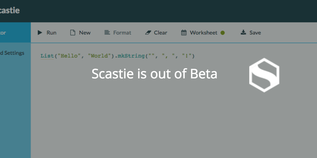 Scastie out of Beta