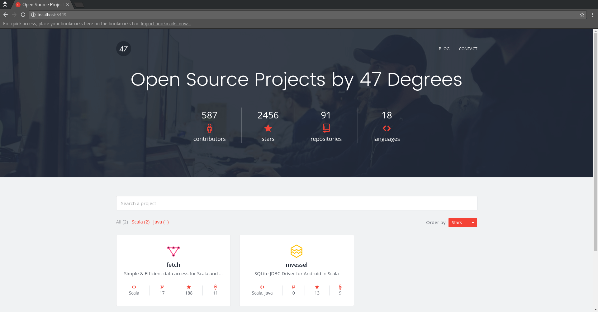 Introducing org: A site generation tool for open source organizations