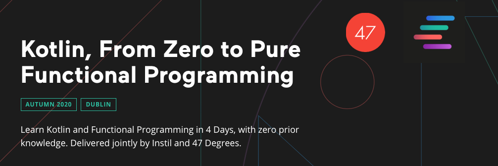 Kotlin, from Zero to Pure Functional Programming Training