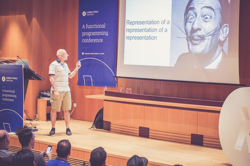 Pascal Voitot at Lambda World 2016