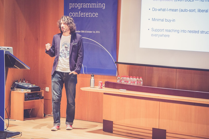 Simon Belak at Lambda World 2016