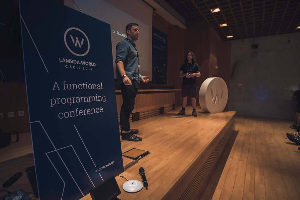 Dave Gurnell & Noel Welsh at Lambda World 2017