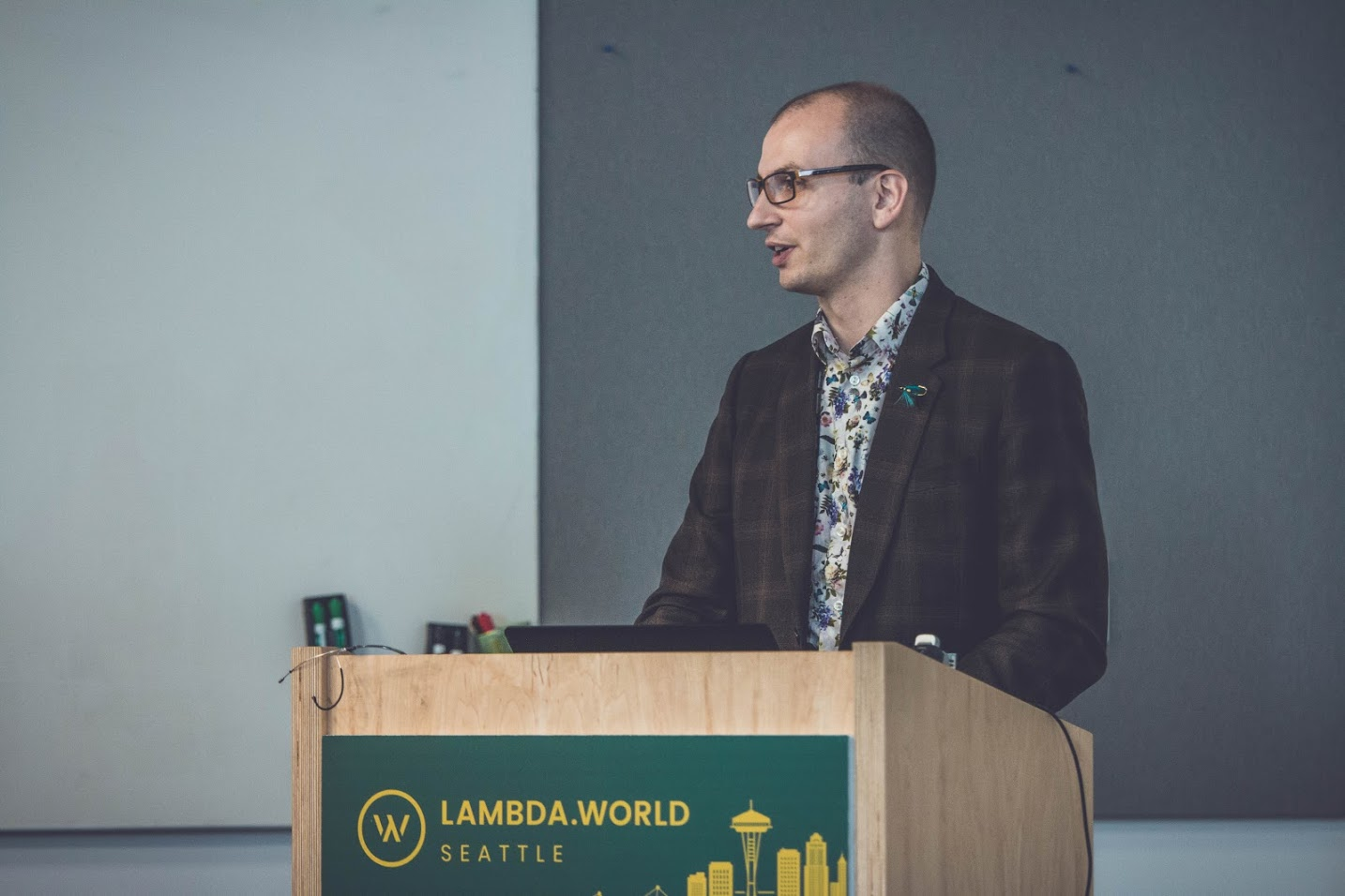 Jon Pretty at Lambda World Seattle 2018