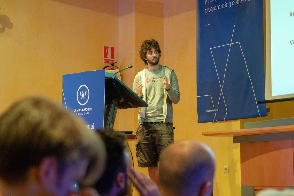 Luka Jacobowitz at Lambda World Cádiz 2018