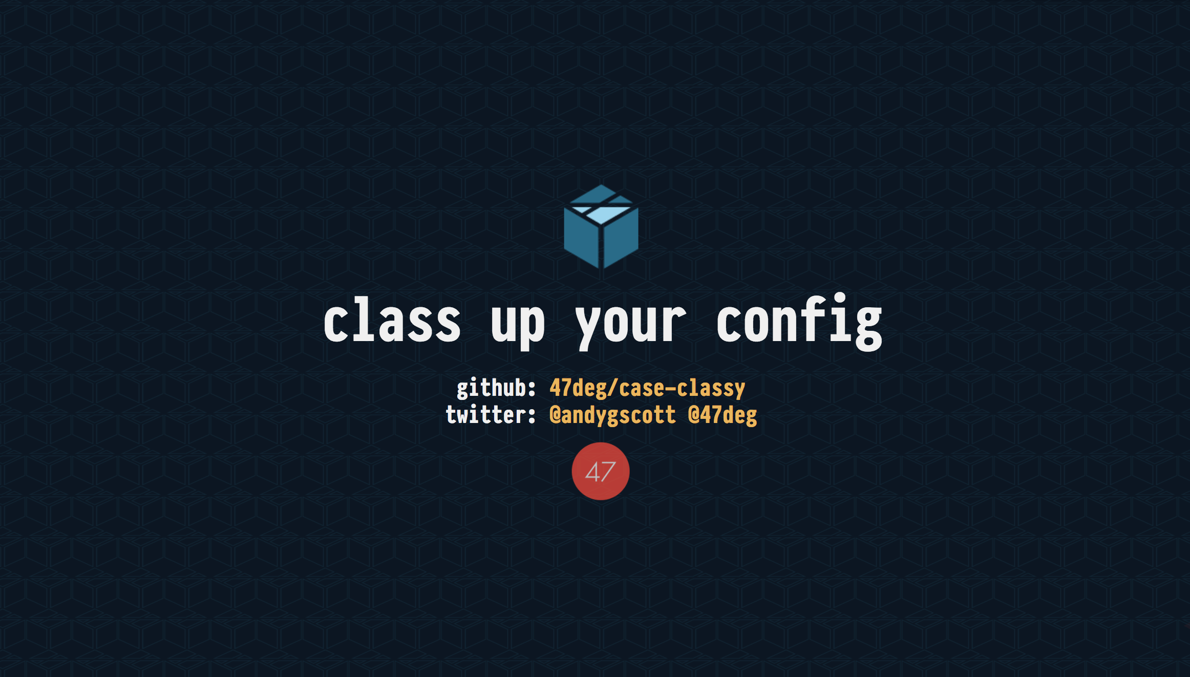 class up your config