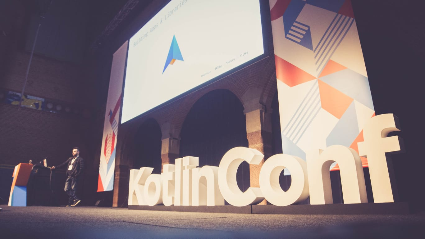 Raúl Raja at KotlinConf 2018